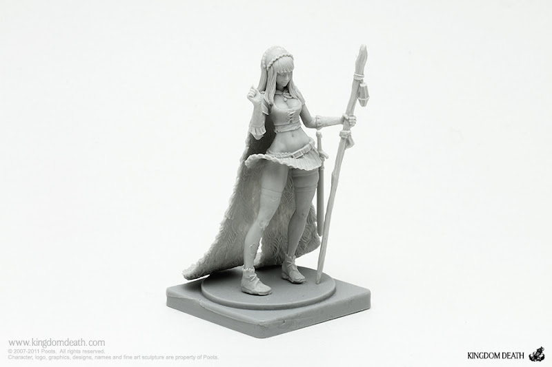 kingdom death character pinup savior