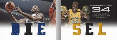 12/13 Preferred Diesel Shaquille O'Neal Book Jersey Card