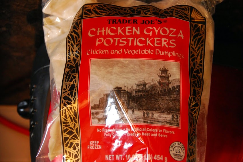Trader joe's Chicken Gyoza Potstickers