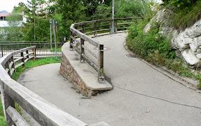 Weg hoch zur Katharinenruhe Oberstdorf Allgäu