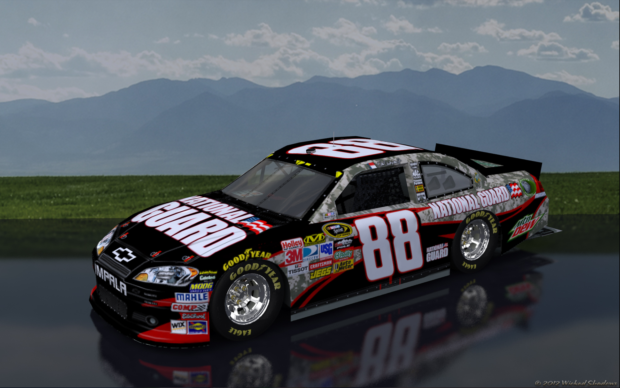 wallpapers by wicked shadows dale earnhardt jr national