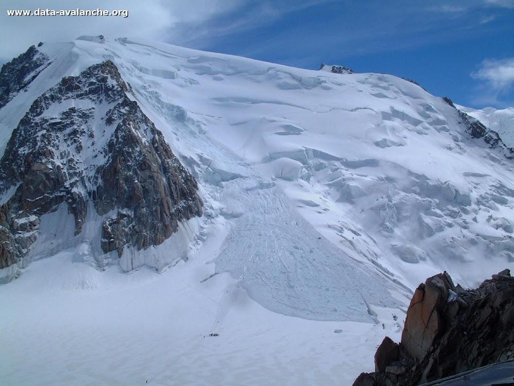 Avalanche Mont Blanc, secteur Mont Blanc du Tacul, Voie Normale - Photo 1