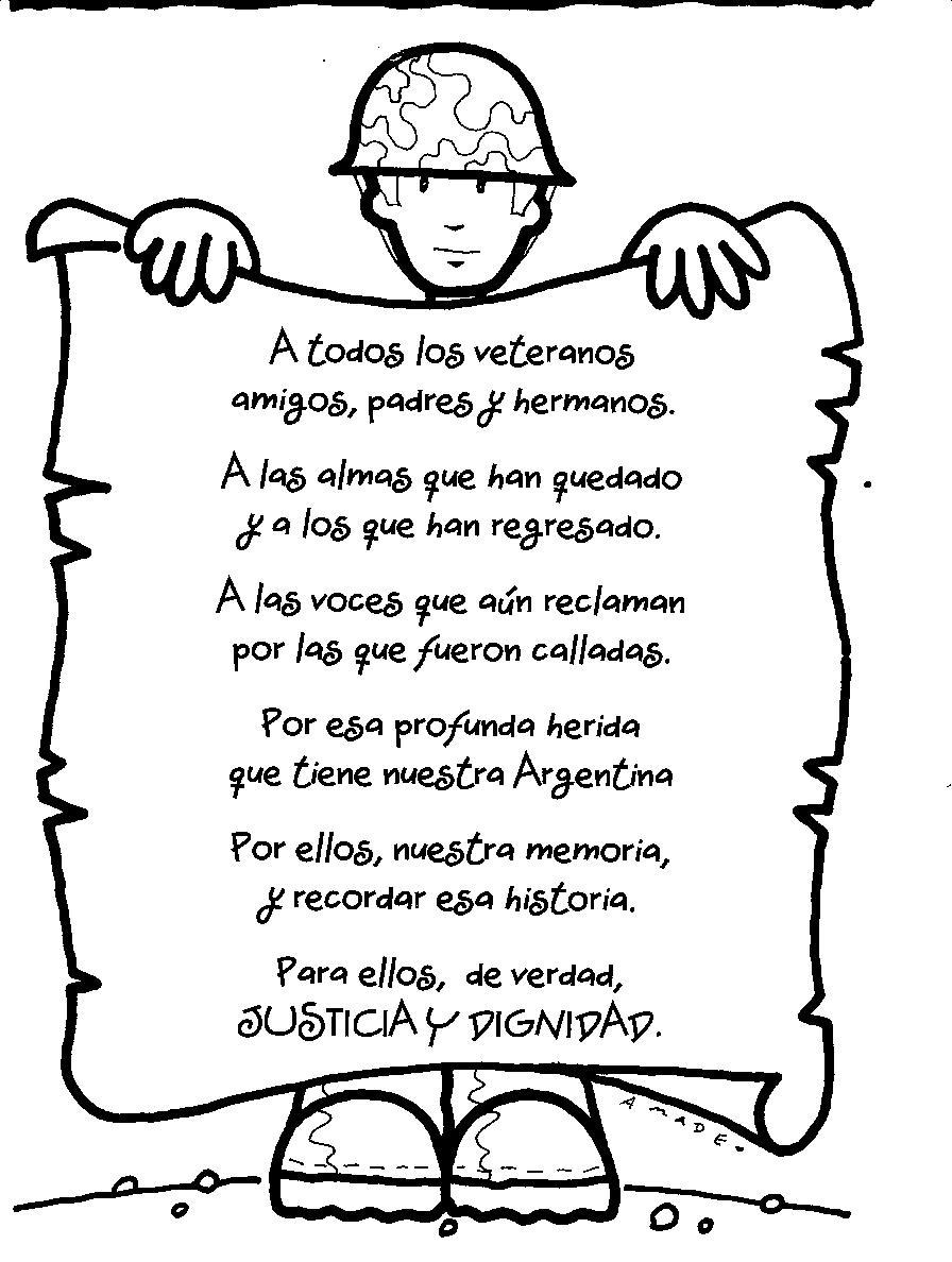 Poesia para el Dia del Veterano de Guerra