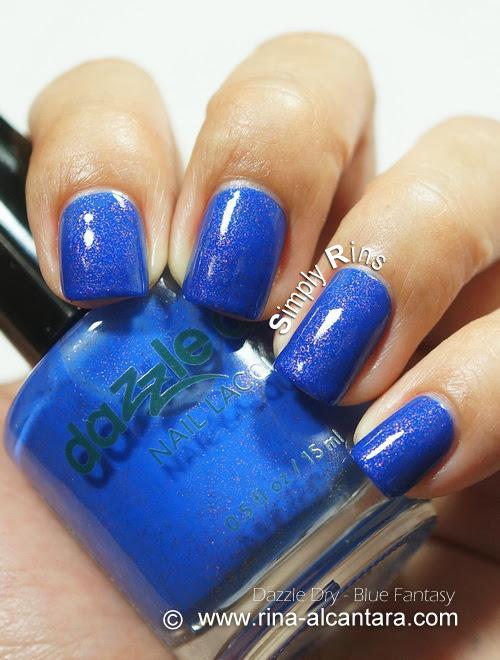 Dazzle Dry Blue Fantasy