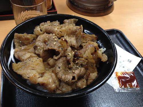 吉野家 牛カルビ丼