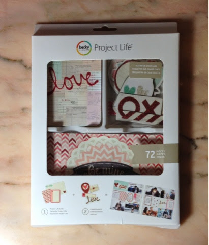 project life scrapbooking cards
