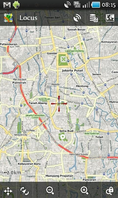 GPS Map Indonesia on Android