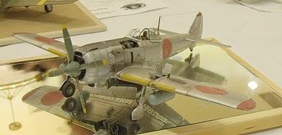 Ki-84 Frank model photo