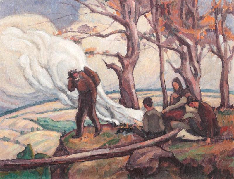 Camil Ressu - Culegătorii de trufe