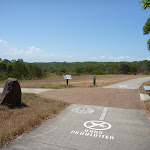 Sealed shared footpath with bicycles and walkers in Green Point Reserve (402889)