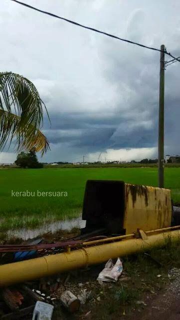 Kuala Sala Kedah Dilanda Puting Beliung Kecil