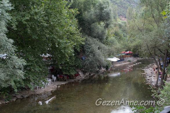 Bursa, Misi deresi ve kenarındaki tesisler