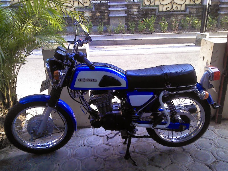 Modifikasi Honda Spacy Pgm Fi