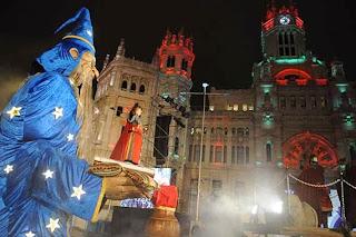 Unas fotos de la Cabalgata de Reyes 2014 en Madrid