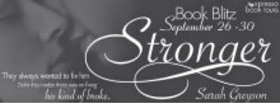 Book Blitz: Stronger By Sarah Greyson
