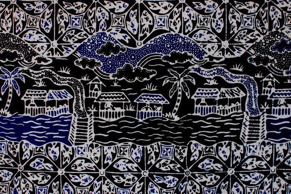 Batik Betawi Motif Ciliwung Marunda