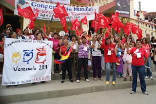 Imágenes de la inauguración de la Conferencia Mundial de Mujeres de Base