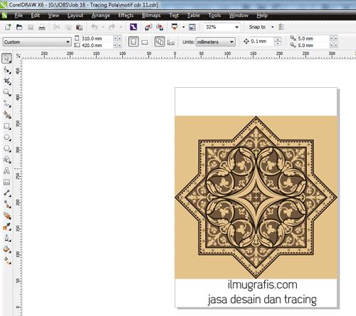 hasil pola pattern eps