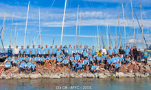 J/24 Hungary fleet- team photo!