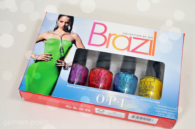 "Brazil by OPI: ""Beach Sandies"" Swatches & Reviews"