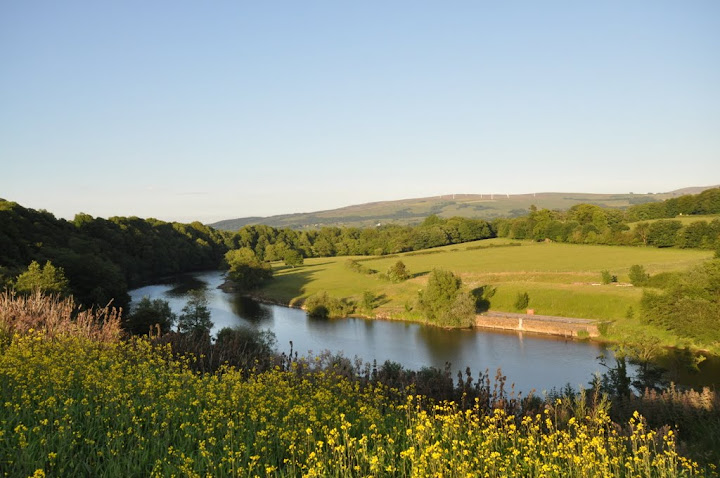 The Lune Valley in summer