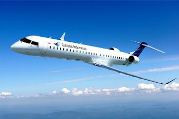 Garuda Indonesia Bombardier CRJ1000 NextGen. ZonaAero