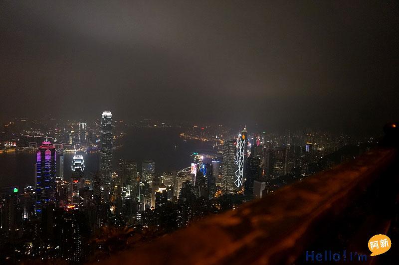 香港太平山夜景-1