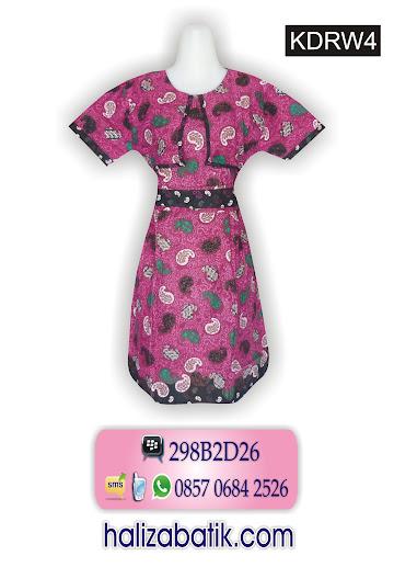 baju dres, koleksi baju batik terbaru, contoh model baju batik wanita