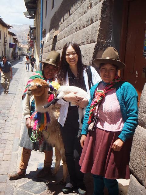 ペルーの方と♪