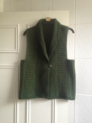 Elise gilet by Mrs U Makes.