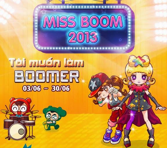 Boom Online khởi động cuộc thi Miss Boom 2013 1