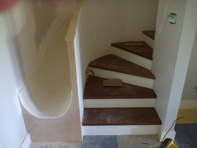 Basement Stair Landing: