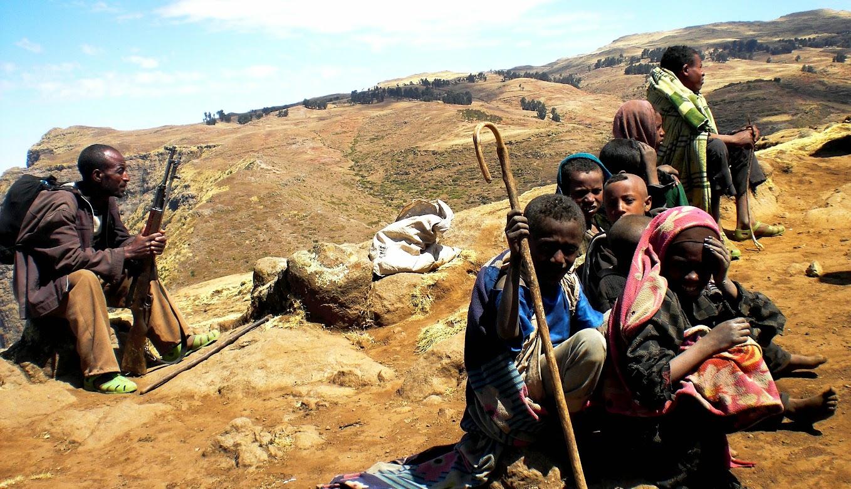 Kelione i Etiopija.Simieno kalnai.Autorius:Tomas Baltusis