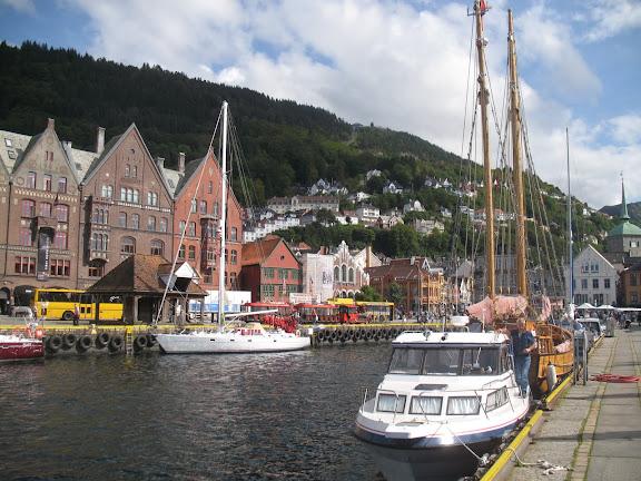 Puerto de Bergen, Noruega