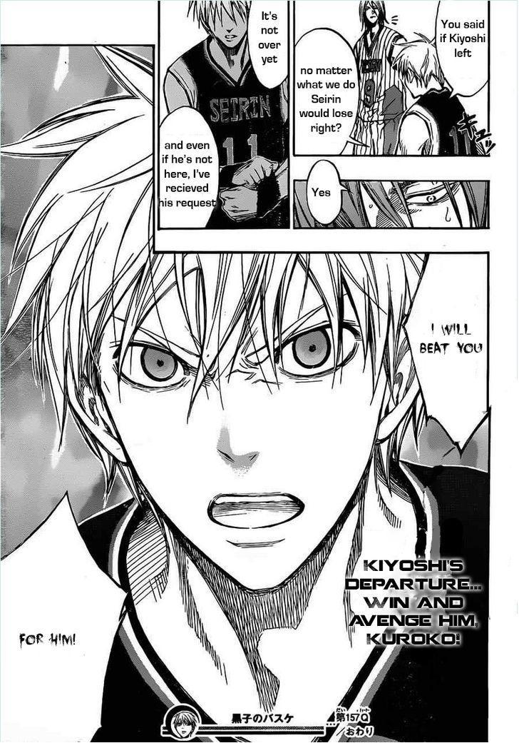 Kuroko no Basket Manga Chapter 157 - Image 19