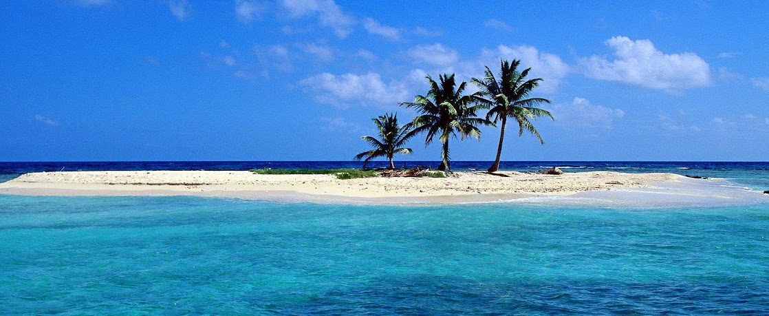 sandy island belize