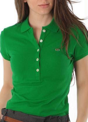 Camisa polo Lacoste básica feminina com 5 botões. Cor  Verde. Tamanho  38.  lh6.googleusercontent.com -xarPhLr91JI VQGohh-uMSI AAAAAAAAJzQ MSz5CNsrKjI cde51075d6