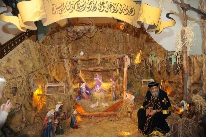صور عيد الميلاد المجيد البابا تواضروس المجد لله في الاعالي