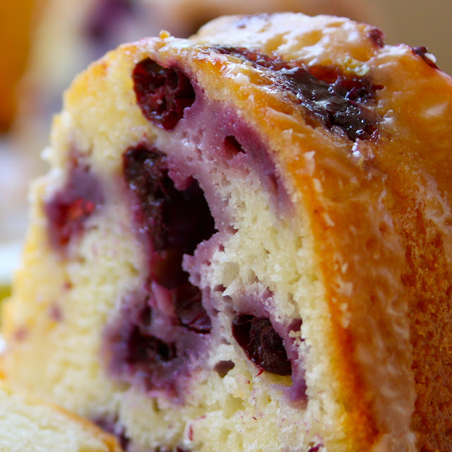 Blueberry Lemon Pound Cake Recipe — Dishmaps