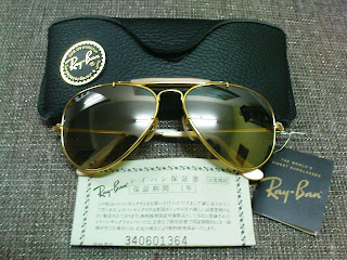 ce64f55cdc7 (SOLD)NOS Ray Ban Outdoorsman 50th Anniversary
