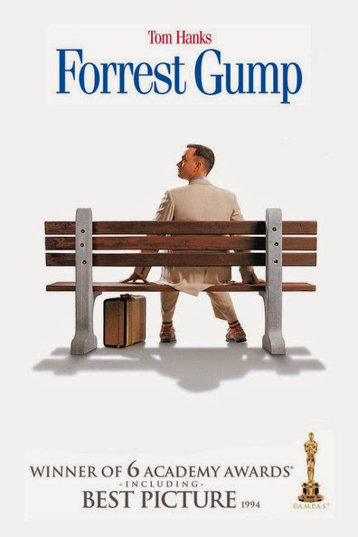 Poster Of Forrest Gump (1994) Full Movie Hindi Dubbed Free Download Watch Online At Alldownloads4u.Com