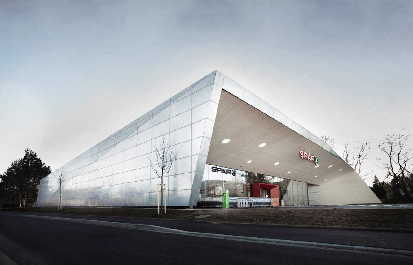 Graz, Austria: Climate Protection Supermarket by Love Architecture