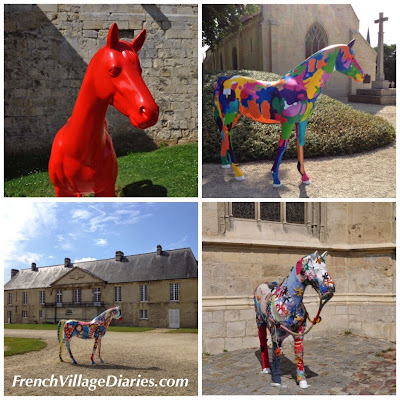 French Village Diaries Normandy street art Caen World Equestrian Games 2014