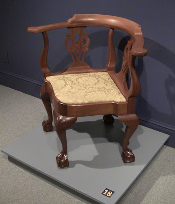 New York Chippendale Corner Chair By Mickey Callahan.