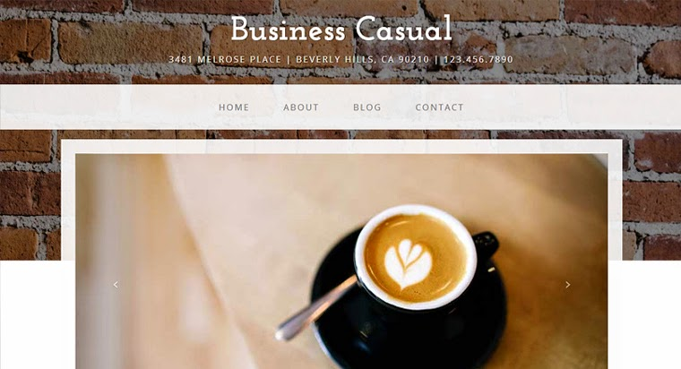 Free Bootstrap Themes Business Casual Templates