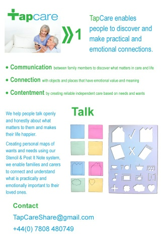 Page describing how talking is first part of understanding needs and wants.