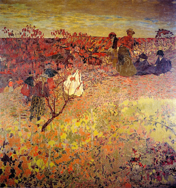 Édouard Vuillard - Promenade in the Vineyard