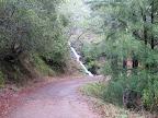 A waterfall along Kent Pump Rd