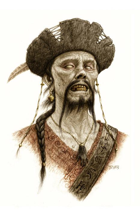 Concept arts de Piratas del Caribe: En mareas misteriosas