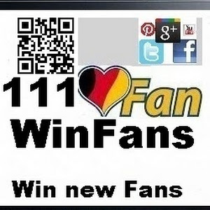 111WinFans - new Fans with Social Media Google+ Twitter Facebook